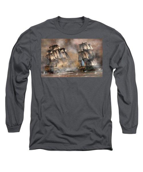 Pirate Battle Long Sleeve T-Shirt