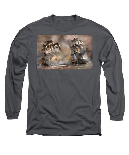 Pirate Battle Long Sleeve T-Shirt