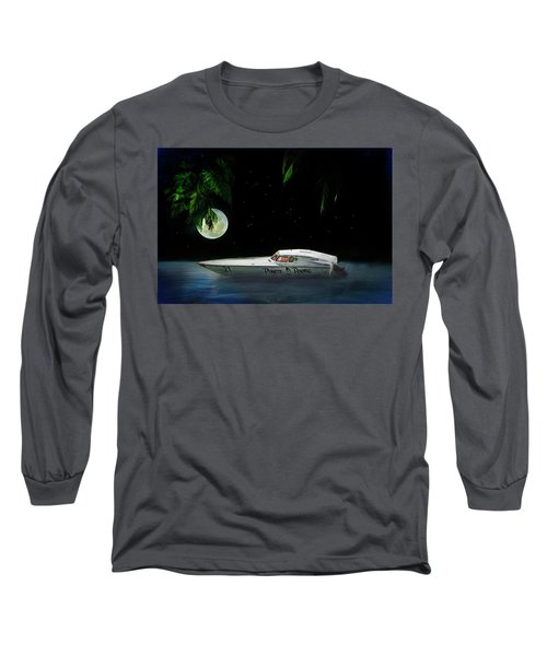 Pirate Racing Long Sleeve T-Shirt by Michael Cleere