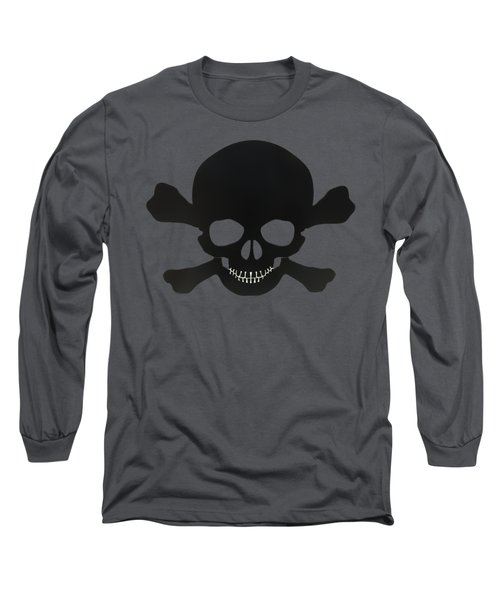 Pirate Skull And Crossbones Long Sleeve T-Shirt