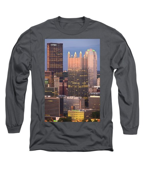 Pittsburgh 19  Long Sleeve T-Shirt by Emmanuel Panagiotakis