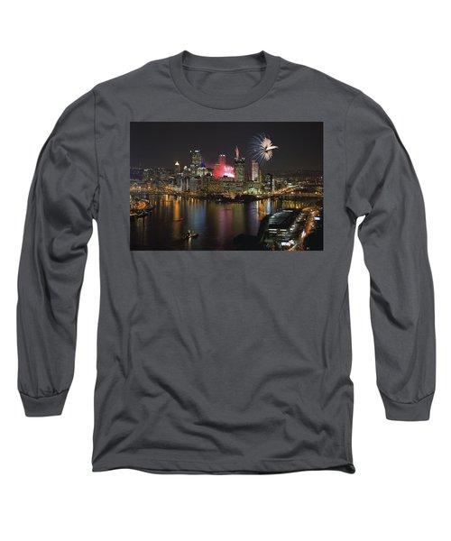 Pittsburgh 3 Long Sleeve T-Shirt