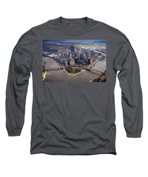Pittsburgh 8 In Color  Long Sleeve T-Shirt