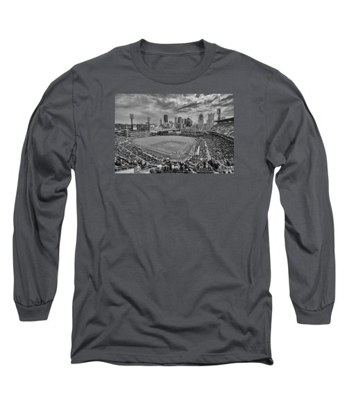 Pittsburgh Pirates Pnc Park Bw X1 Long Sleeve T-Shirt