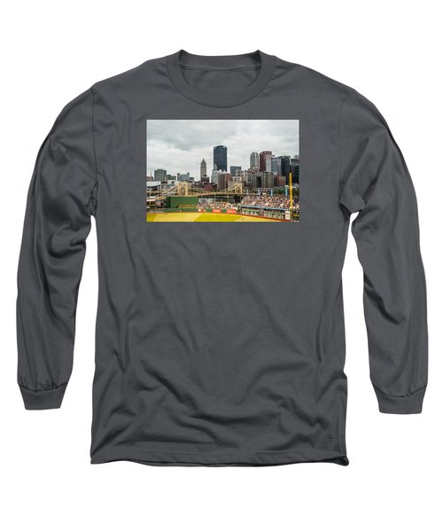 Pittsburgh/pnc Park - 6986 Long Sleeve T-Shirt by G L Sarti