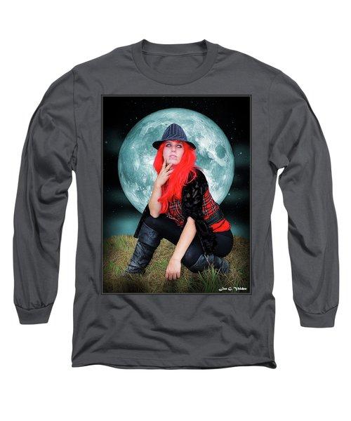 Pixie Under A Blue Moon Long Sleeve T-Shirt