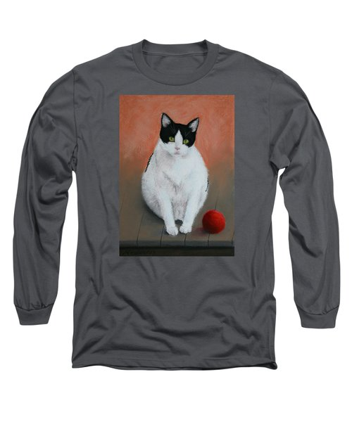 Pj And The Ball Long Sleeve T-Shirt by Marna Edwards Flavell