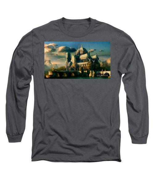 Places Angels Dwell Painted In Bleak Long Sleeve T-Shirt