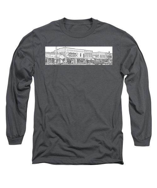 Plains Ga Downtown Long Sleeve T-Shirt