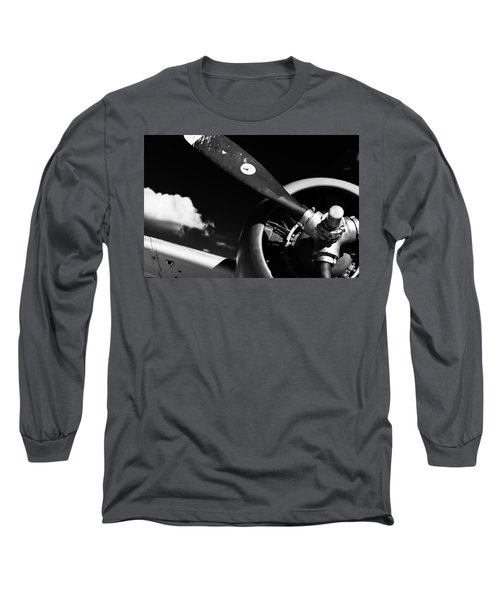Plane Portrait 1 Long Sleeve T-Shirt by Ryan Weddle
