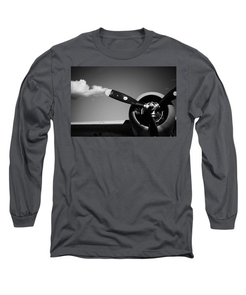 Plane Portrait 4 Long Sleeve T-Shirt by Ryan Weddle
