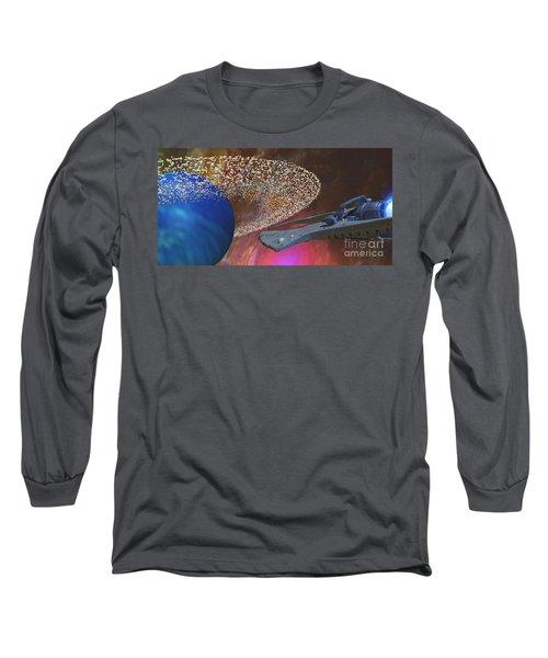 Planet Asteroids Long Sleeve T-Shirt