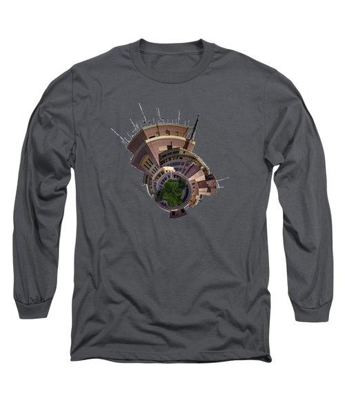 Planet Tripler T-shirt Long Sleeve T-Shirt by Dan McManus