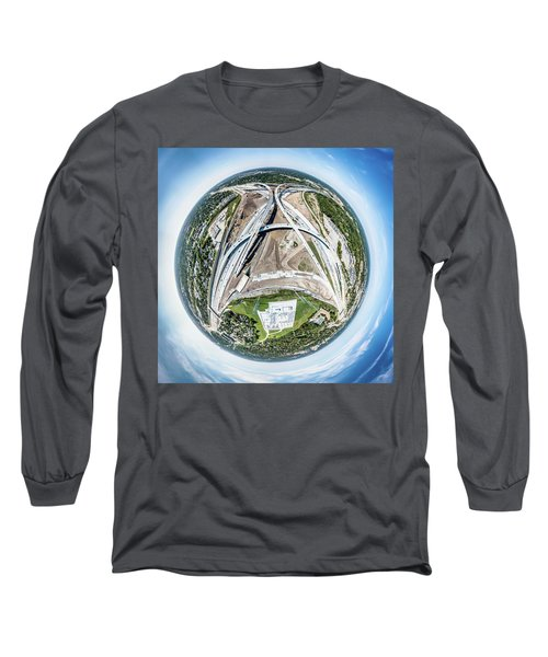 Planet Under Construction Long Sleeve T-Shirt