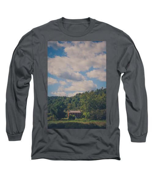 Long Sleeve T-Shirt featuring the photograph Plantation House by Shane Holsclaw