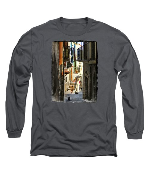 Play Day In Vieste.italy Long Sleeve T-Shirt