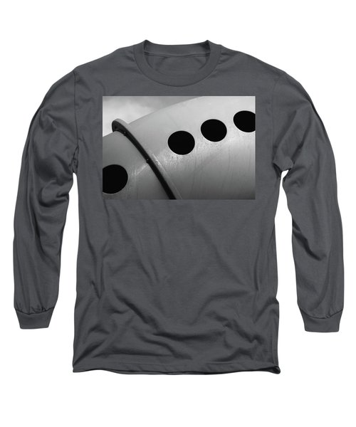Long Sleeve T-Shirt featuring the photograph Playground Bridge by Richard Rizzo