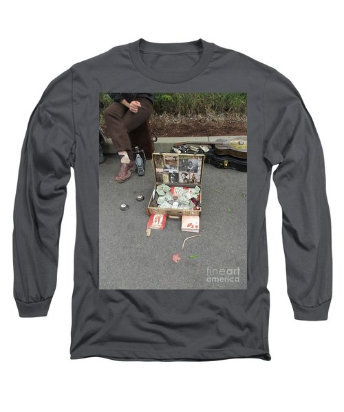 Playing For Dinner Long Sleeve T-Shirt