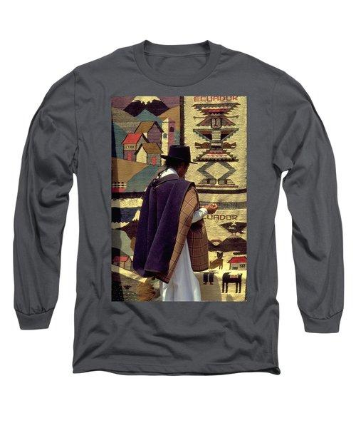 Plaza De Ponchos Long Sleeve T-Shirt