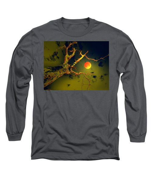 Long Sleeve T-Shirt featuring the digital art Please Bring The Rains by Bliss Of Art