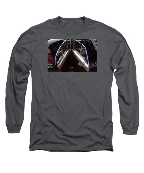Please Take A Seat... Long Sleeve T-Shirt by John Schneider