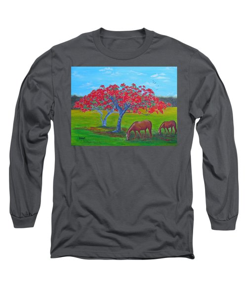 Pleasent Pastures Long Sleeve T-Shirt
