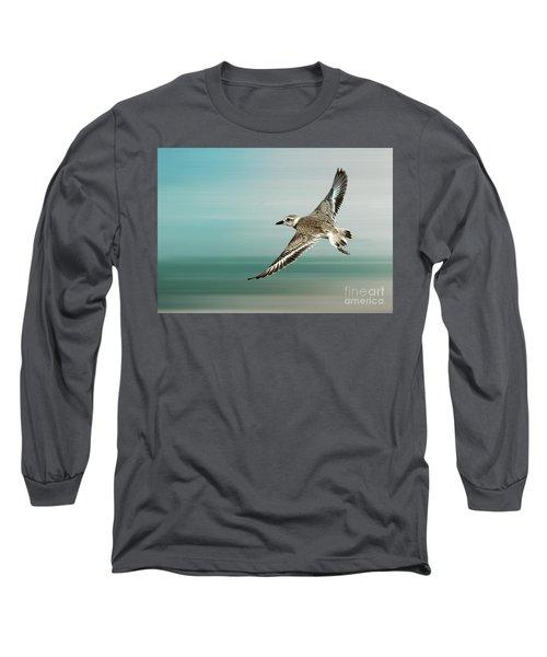 Plover In Flight Long Sleeve T-Shirt