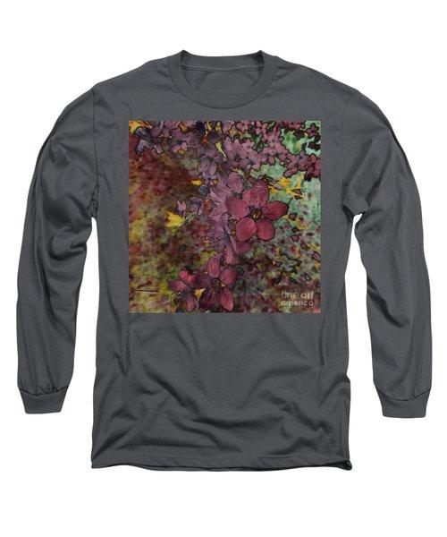 Long Sleeve T-Shirt featuring the photograph Plum Blossom by LemonArt Photography