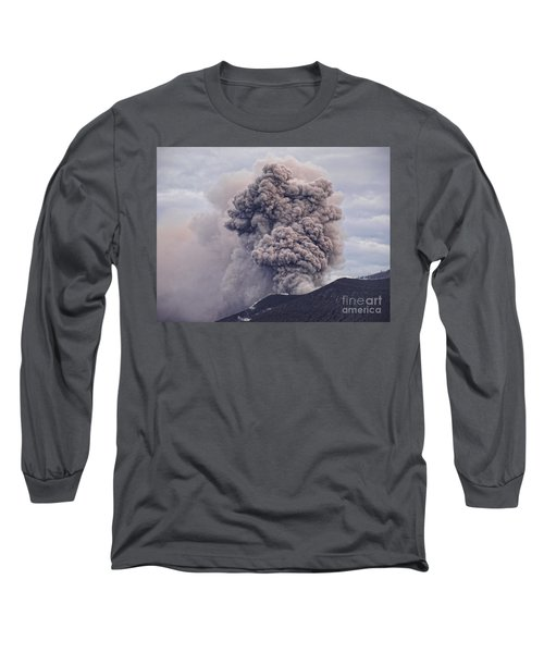 Long Sleeve T-Shirt featuring the photograph Plume by Trena Mara