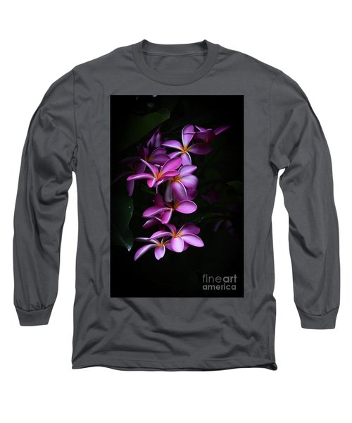 Long Sleeve T-Shirt featuring the photograph Plumeria Light by Kelly Wade