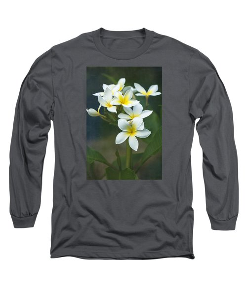 Plumerias On A Cloudy Day Long Sleeve T-Shirt