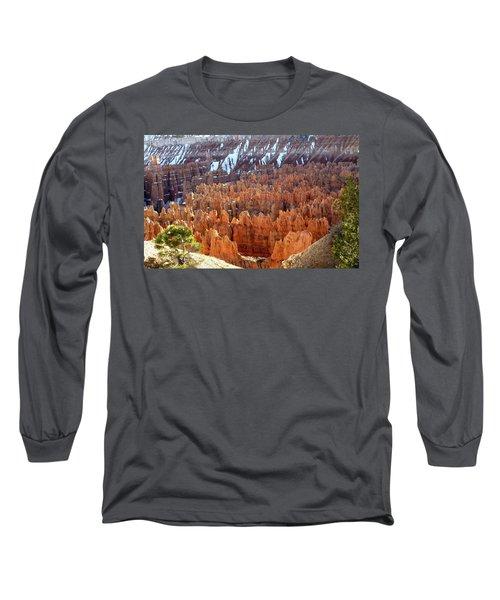 Pocket Full Of Hoodoos, Evening Long Sleeve T-Shirt by Amelia Racca