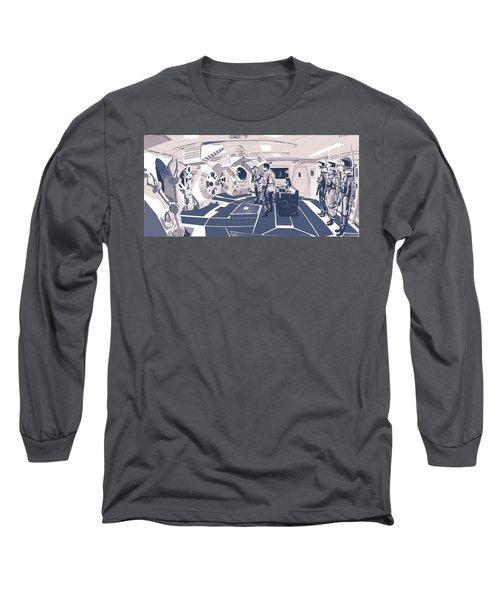 Pod Bay Long Sleeve T-Shirt by Kurt Ramschissel
