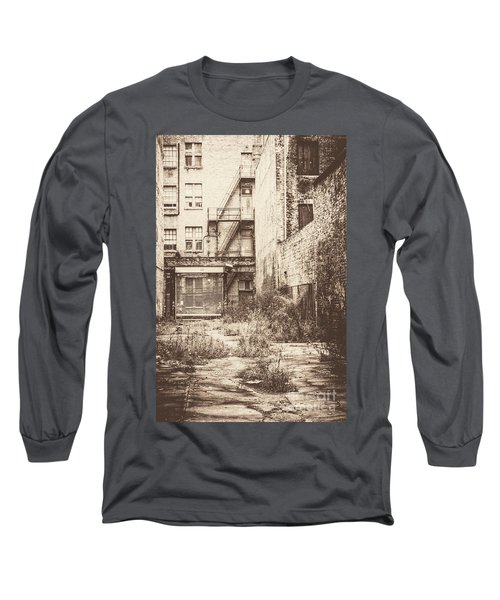 Poetic Deterioration Long Sleeve T-Shirt