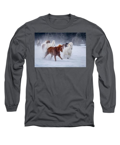 Poetry In Motion Long Sleeve T-Shirt by Jack Bell