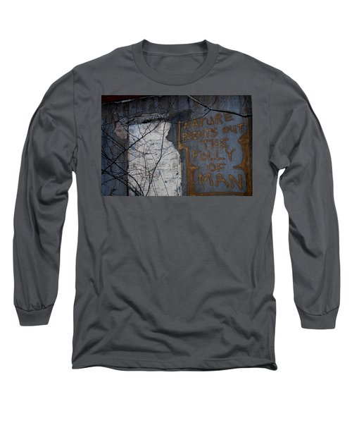 Poignant Long Sleeve T-Shirt