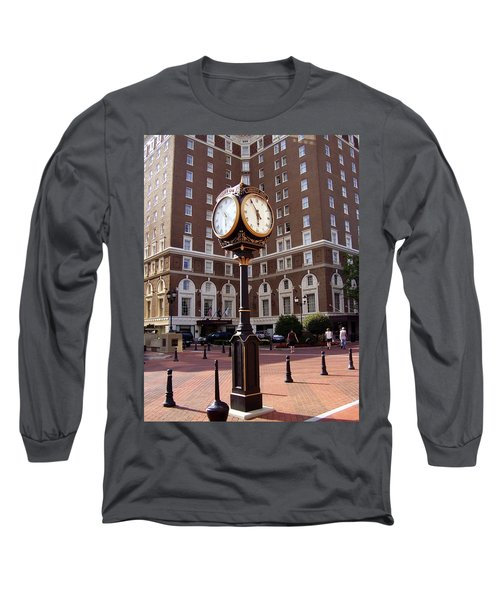Poinsett Hotel Greeenville Sc Long Sleeve T-Shirt