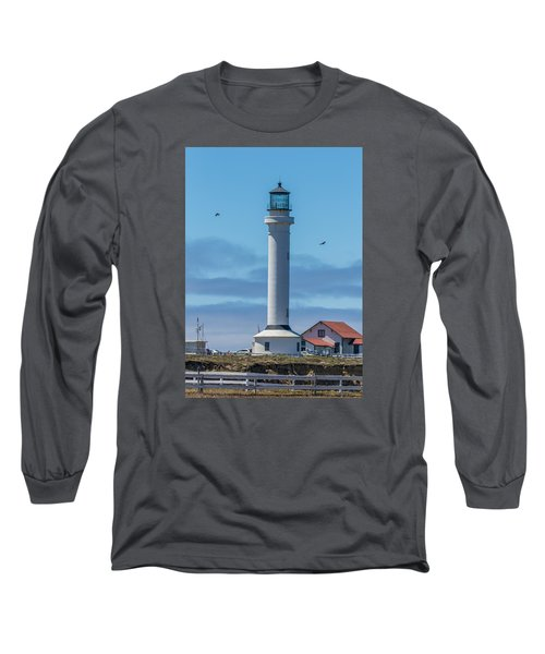 Point Arena Lighthouse Long Sleeve T-Shirt