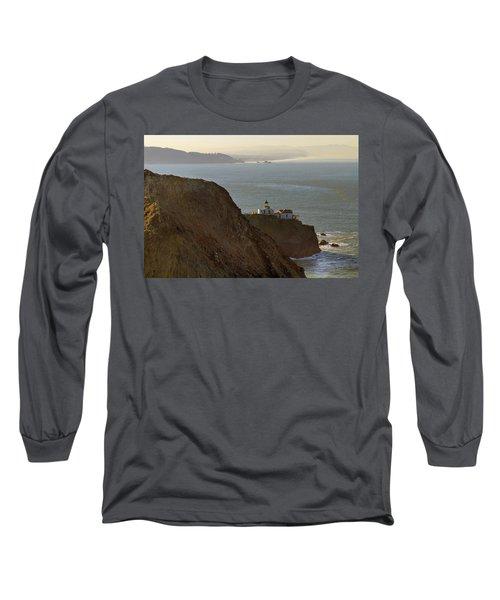 Point Bonita Lighthouse In San Francisco Long Sleeve T-Shirt