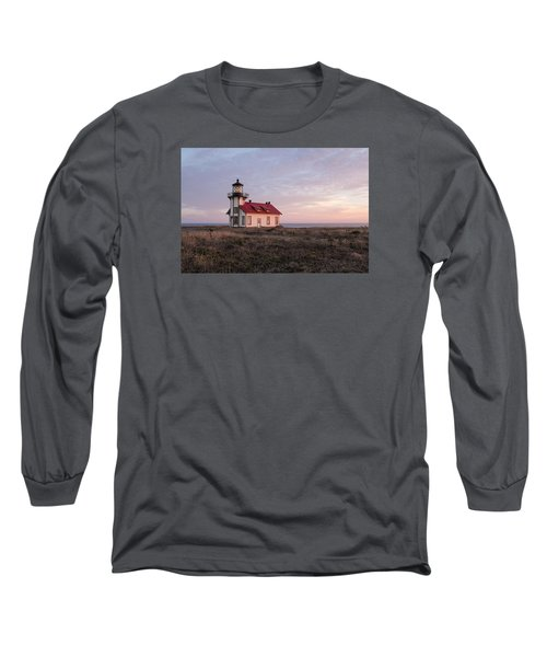 Point Cabrillo Light House Long Sleeve T-Shirt by Catherine Lau