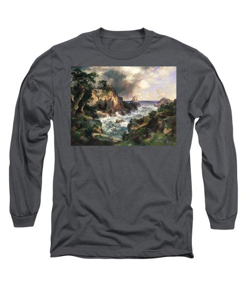 Point Lobos Monterey California Long Sleeve T-Shirt