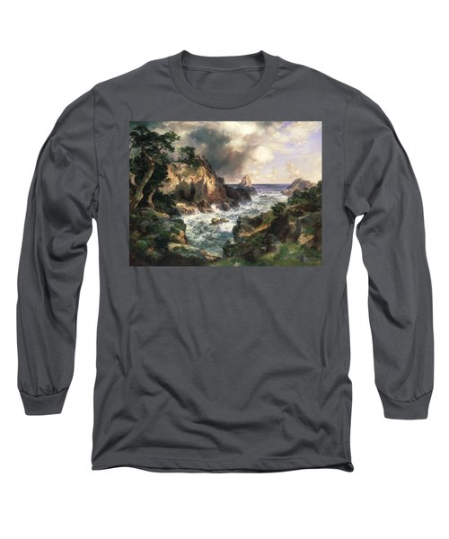 Point Lobos Monterey California Long Sleeve T-Shirt