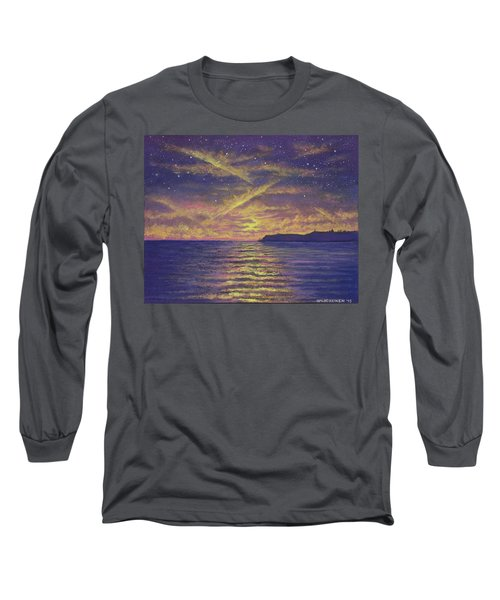 Point Loma Sunset 01 Long Sleeve T-Shirt