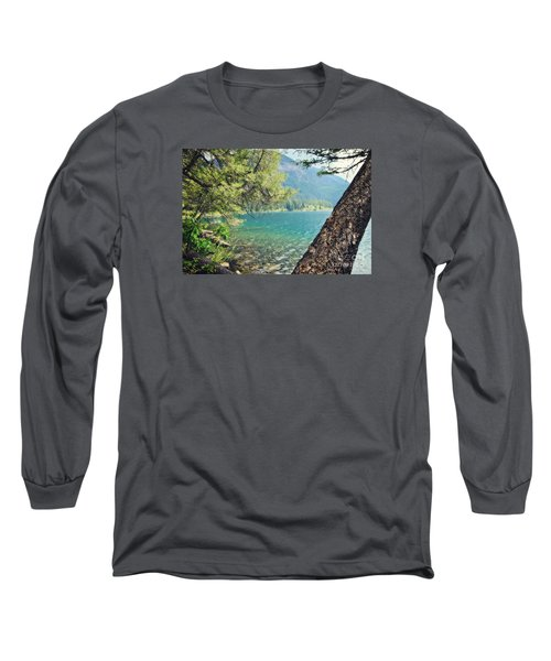 Point Of Interest Long Sleeve T-Shirt by Janie Johnson