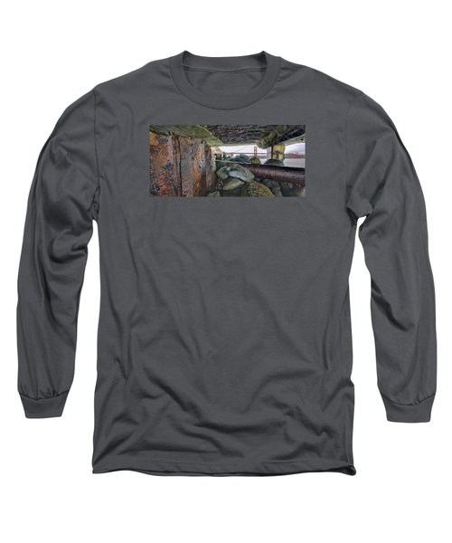 Long Sleeve T-Shirt featuring the photograph Point Of View by Steve Siri