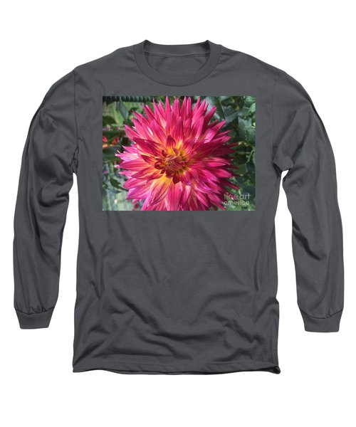 Pointed Dahlia Long Sleeve T-Shirt