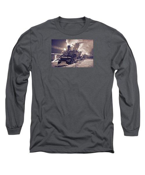 Polar Express. Durango, Colorado #2 Long Sleeve T-Shirt by George Robinson