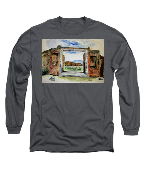 Pompeii Doorway Long Sleeve T-Shirt