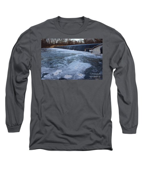 Pompton Spillway In Winter 2 Long Sleeve T-Shirt