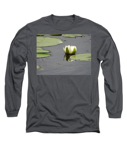 Long Sleeve T-Shirt featuring the photograph Pond Beauty by Betty-Anne McDonald